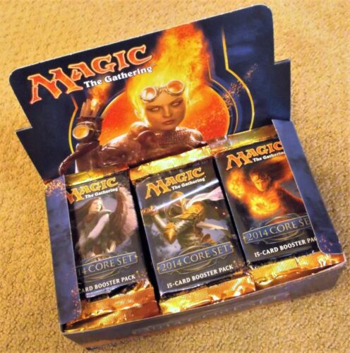 MAGIC THE GATHERING CORE 2014 SET M14 BOOSTER 13 BOX 12 PACKS FACTORY SEALED
