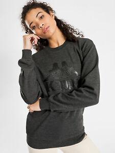 Kappa Womens Authentic 222 Banda Sweater In Grey Marle