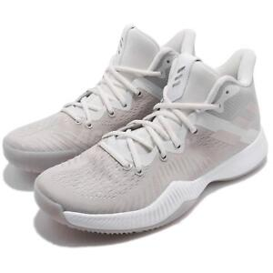 a78c807e483a adidas Mad Bounce Grey Chalk Pearl White Men Basketball Shoes ...