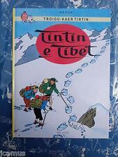 Tintin - Tintin au Tibet en BRETON 1994 AN HERE NEUF RARE!