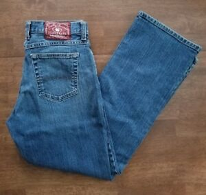 Lucky-Brand-Dungarees-Josie-Womens-Jeans-Sz-30-Short-Blue-Classic-Fit-Inseam-31