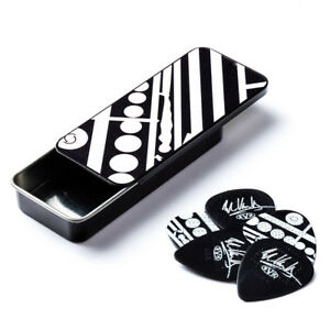 Eddie Van Halen Guitar Picks Tin EVH Circles Dunlop Max Grip New Free Shipping