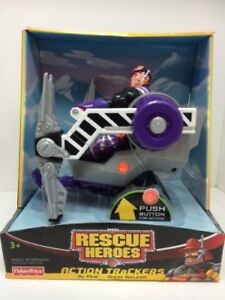 fisher price rescue heroes action trackers al pine snow tracker