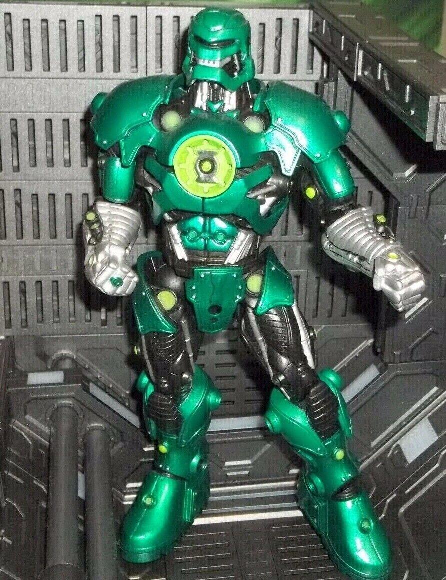 DC UNIVERSE classeICS verde LANTERN WAVE 2 STEL  BUILD-A-cifra BAF cifra