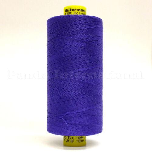Sewing Color 810 GUTERMANN Mara 120 100/% POLYESTER THREAD 1094 yard//spool Reg