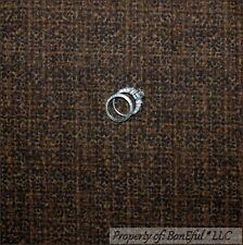 BonEful Fabric Cotton Quilt Brown Tan Cocoa Coffee Dot Tone Dark Calico NR SCRAP