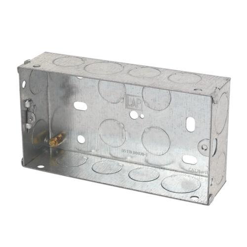 1 gang 2 gang walk over 13Amp floor sockets spring flap stainless steel  box
