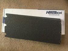 Hiretech HT8. 5 floor sander abrasive sheets 24 grit Free P&P