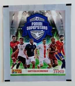 1X PACKET PANINI EURO CUP FRANCE 2016 LIDL GREEN VERSION POCHETTE BUSTINA SOBRE