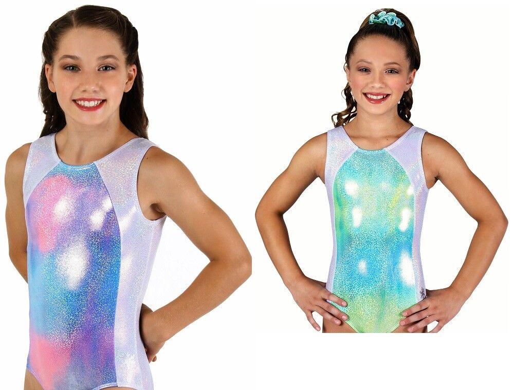 NEW! Radiance Gymnastics or Dance Leotard by Snowflake Designs - blu or rosa