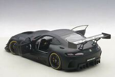 Autoart MERCEDES BENZ AMG GT3 PLAIN BODY MATT BLACK COMPOSITE 1/18 In Stock!
