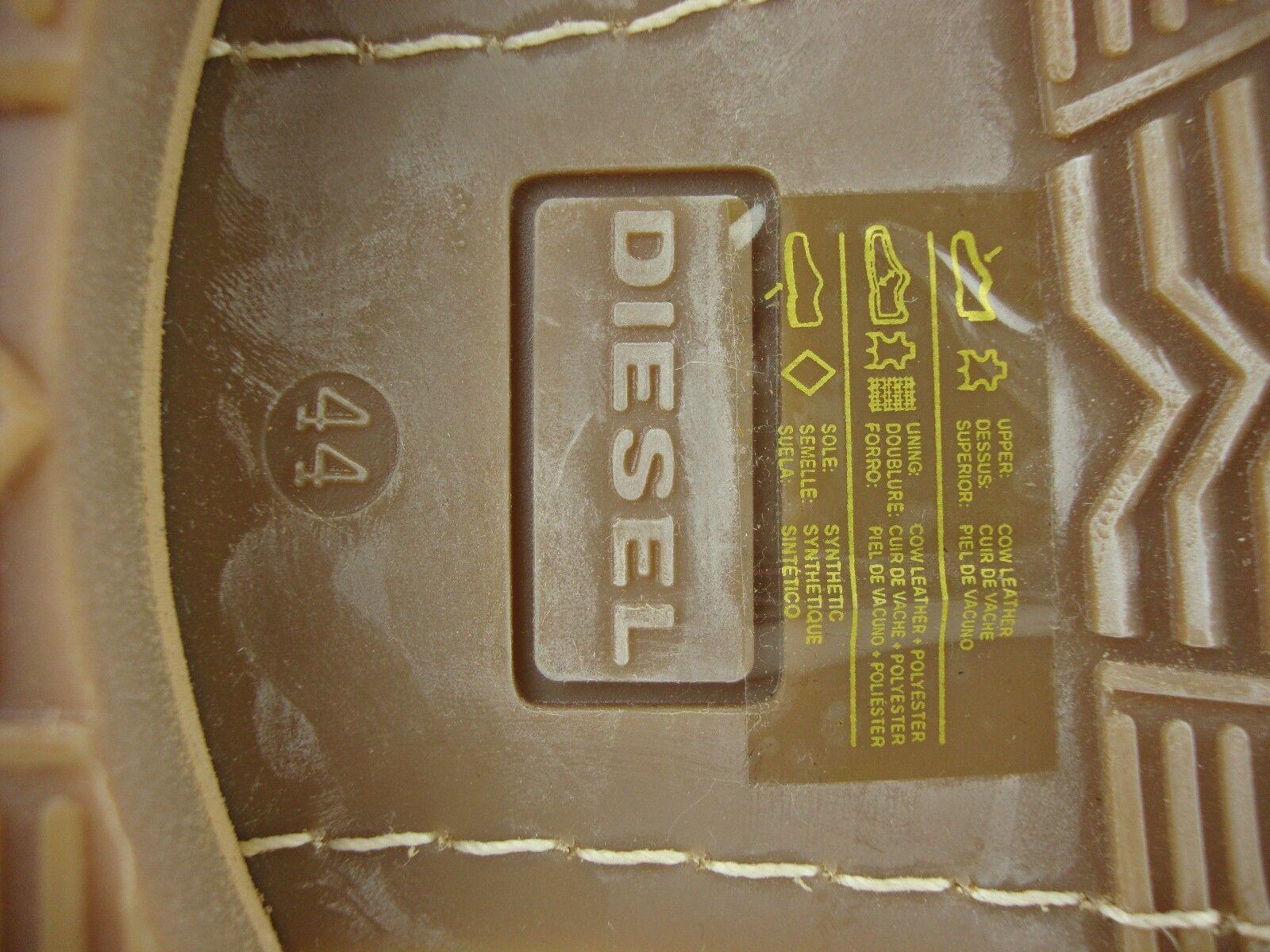 DIESEL The Brave Nation SKILLO Boots Herren Kurzschaft Stiefel Gr.44 Schuhe Gr.44 Stiefel NEU cb3490
