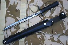 Bayonet Comando spiral fluted Custom Knife