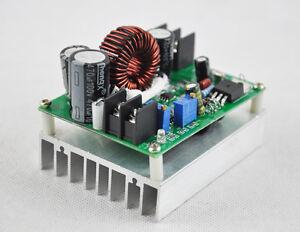 800w boost dc dc power supply konverter step up modul wandler spannung zu 12 80v ebay. Black Bedroom Furniture Sets. Home Design Ideas