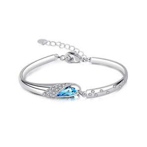 Rose-Gold-Bracelet-Embellished-Crystal-Made-With-Swarovski-Element