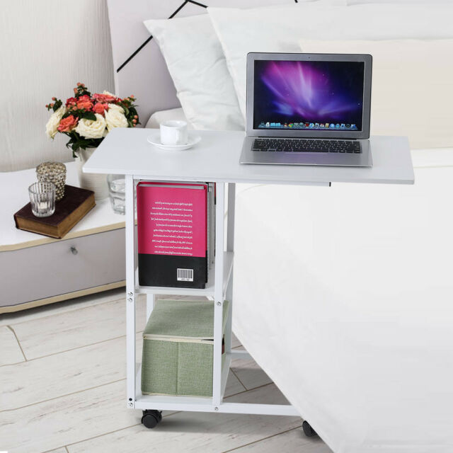 Strange Portable Mobile Over Bed Table Sofa Couch Rolling Wheel Laptop Computer Desk Squirreltailoven Fun Painted Chair Ideas Images Squirreltailovenorg
