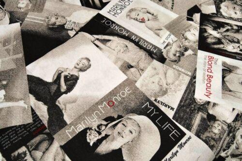 140cm wide MARILYN MONROE Fashion Magazine Curtain Cotton Fabric Material