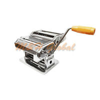Pasta Maker Machine 7 Stainless Steel Hand Crank