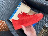 Sneakers, Adidas, str. 43, Rød, Ruskind