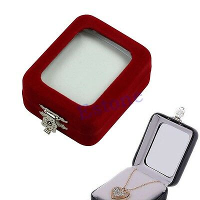 Fashion Practical Design Jewelry Pendant Package Gift Box Necklace Case Bag