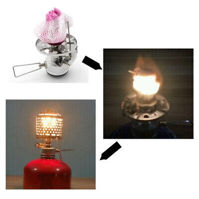 New 20pcs Pressure Lamp Mantles Kerosene Gas Lantern Lamp Cover Gauze Mesh Sale