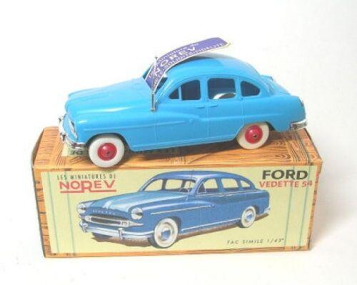 Ford Vedette 54 blau