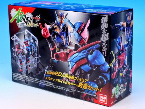 Japan Kamen Rider Build Dai-So-do Kamen Rider Build & Cross-Z & SnapRideBuilder