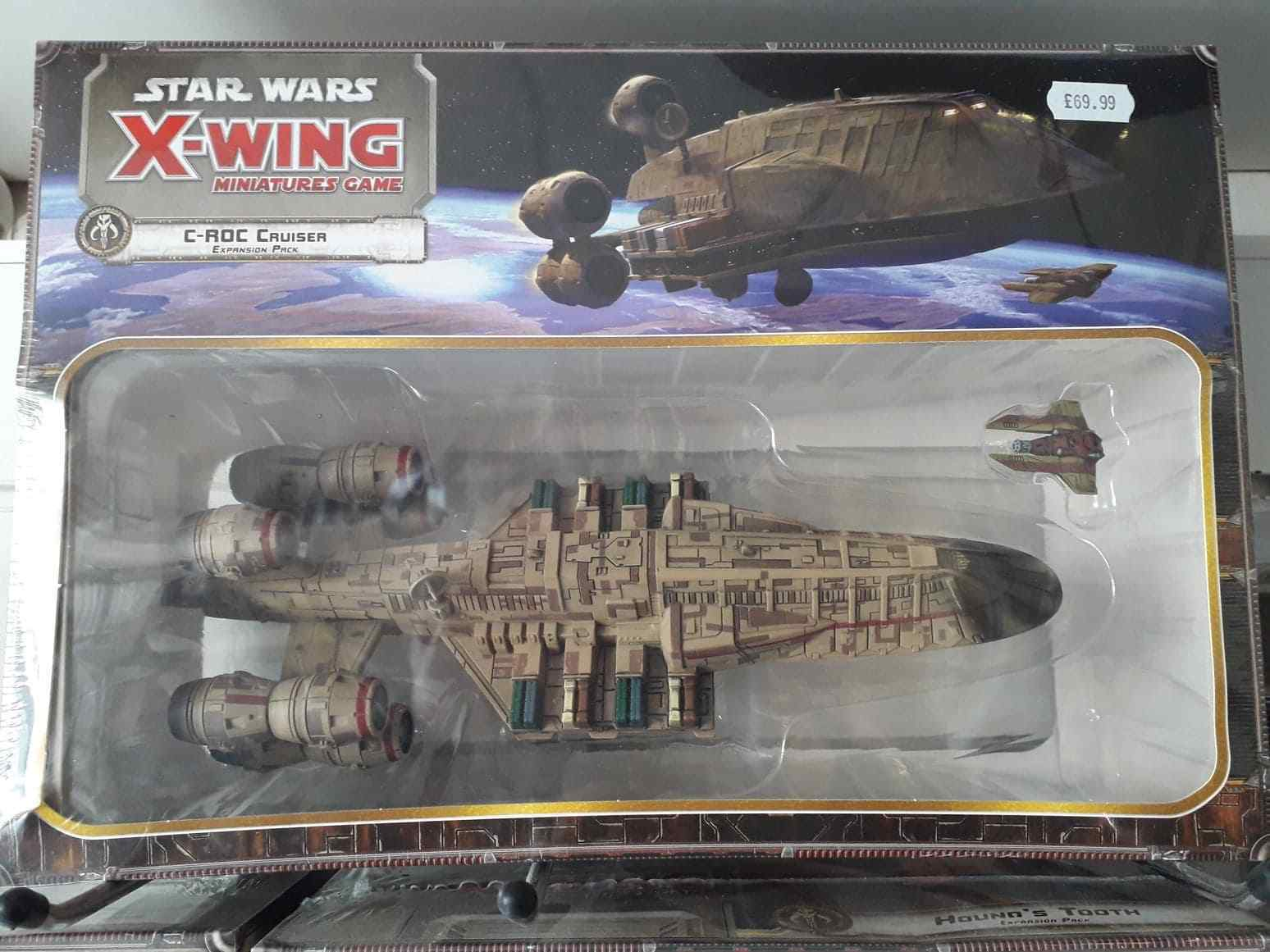 Fantasy Flight Games Star Star Star Wars X-Wing C-ROC Cruiser Expansion Pack FFGSWX58 f61
