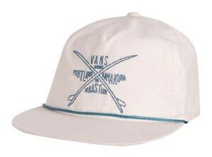 Vans Off The Wall Wanderer Surf Club Ivory Snapback Soft Crown Hat ... 1bef7f45e