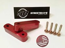 StreetRays [Originals] Hood Spacer Risers CIVIC INTEGRA CRX RSX PRELUDE (RED)