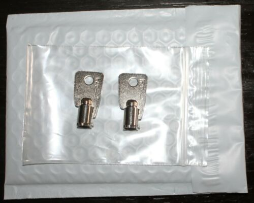 Replacement KEY HMC27251 to HMC27500 2-NEW KEYS FOR Protex Gun Wall Safe Homak