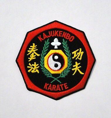 "KAJUKENBO PATCH MMA JUDO JIU JITSU 5/"" W NEW 1"
