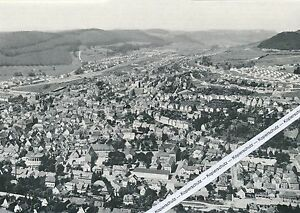 Ebingen - Zollernalb - Luftbild um 1960