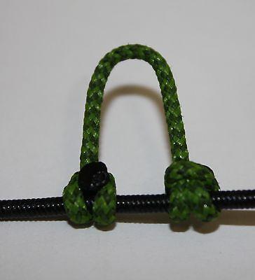 1,2,5,10 Fl Orange /& Black Speckled D Loop BCY 24 Rope Archery Release Bowstring
