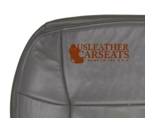 1998 1999 Lincoln Navigator Passenger Bottom Replacement LEATHER Seat Cover Gray