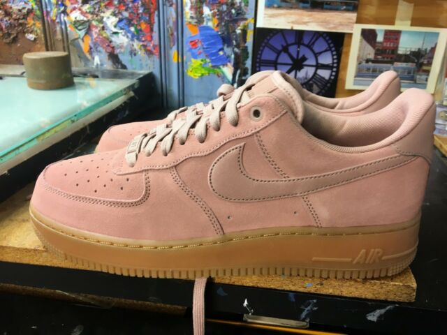 meet 1b119 b73c1 Nike Air Force 1 High 07 Lv8 Suede Mens Size 10.5 Particle Pink Gum Aa1117  600