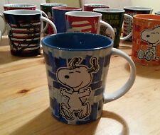 Snoopy / Peanuts Tasse Kaffeetasse Kaffeebecher Mug Becher / Neu aus USA / Blau