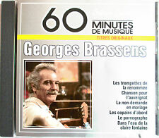 "GEORGES BRASSENS - RARE CD ""SIVER SERIE"""
