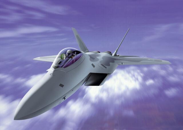 F-22 Raptor Fighter 1:72 Plastic Model Kit ITALERI