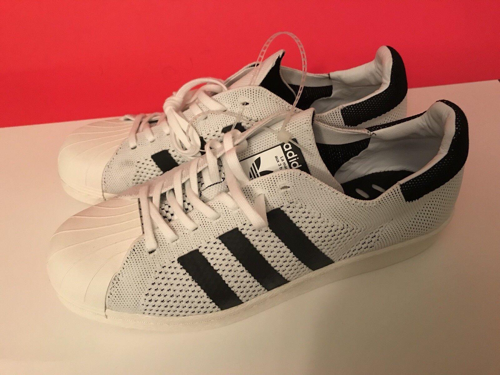 Adidas superstar pk männer auftrieb primeknit prime stricken weiße schwarze männer pk bb0190  98d74f
