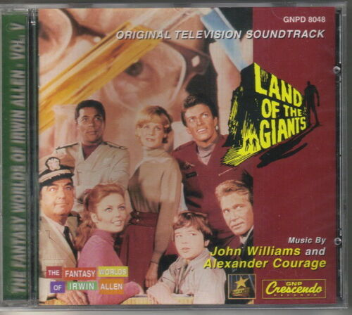 Land of the Giants TV Series Original Soundtrack CD NEW SEALED UNOPENED