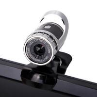 USB 2.0 1080P HD WebCam Web Camera Video with Mic 360°for MSN Skype Desktops