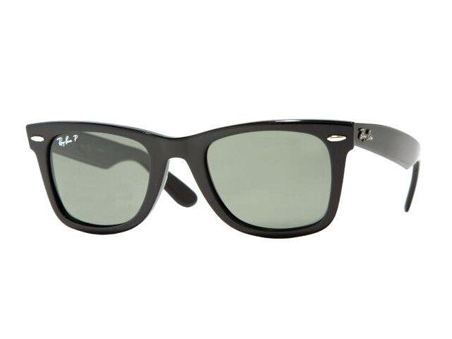 Ray-ban Wayfarer gafas de Sol 2140 901 58 negro polarizados 54mm   eBay d9c7cb42fe