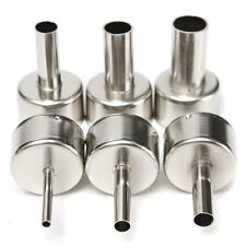 6Pcs 3/5/6/8/10/12mm Circular Nozzles For Hot Air Soldering Station 858A 858D