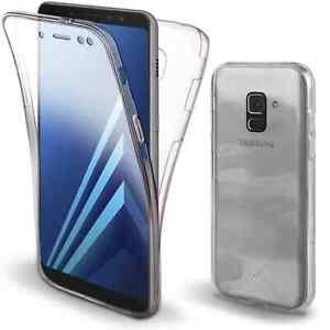Coque Samsung Galaxy A8 2018, Coque Avant arrière A8 2018 ,360 degrés A8 2018
