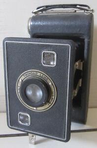 Macchina-fotografica-a-soffietto-TWINDAR-LENS-Vintage