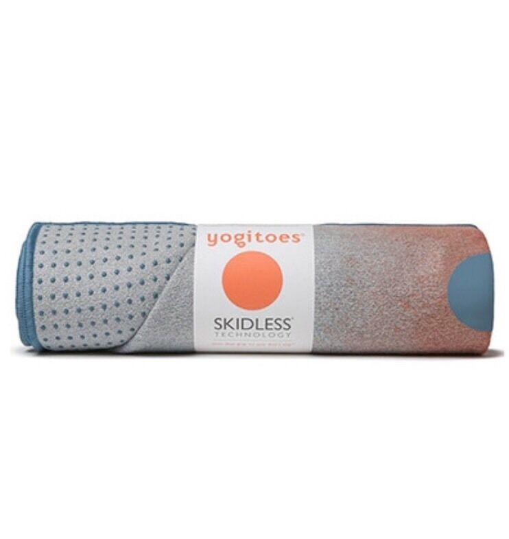 Manduka Yogitoes Waterfall Zuri Non-Slip Skidless Yoga NWT Mat Towel NWT Yoga c0a767
