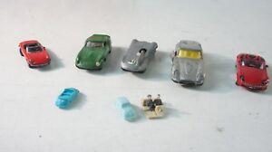 7-Modellautos-Schuco-Lesney-Siku-Faller-Flachanker-etc-Z-439