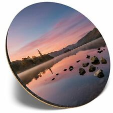 Derwentwater Keswick Lake District  #44874 Set of 4 Square Coasters