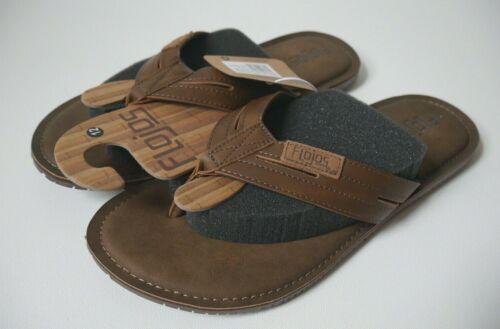 FLOJOS Alonzo Sandals Thong Flip Flops Casual Comfort Mens Size 7 NEW!